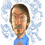 Will Wright - karikatura